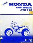 1981-1984 Honda ATC110 Factory Service Manual