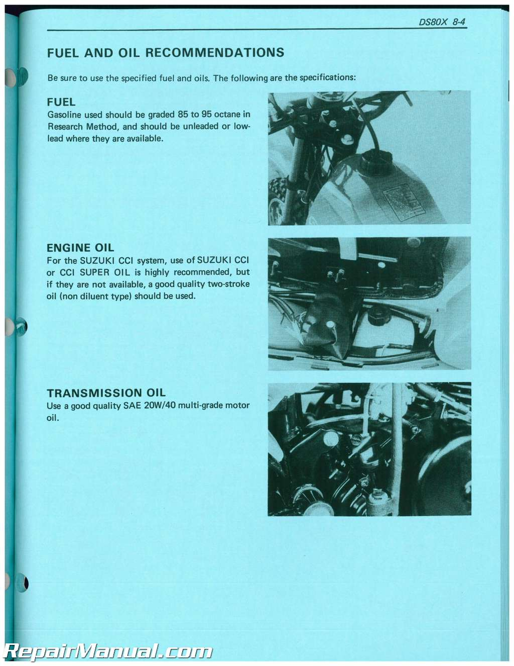 Suzuki workshop manuals for download free