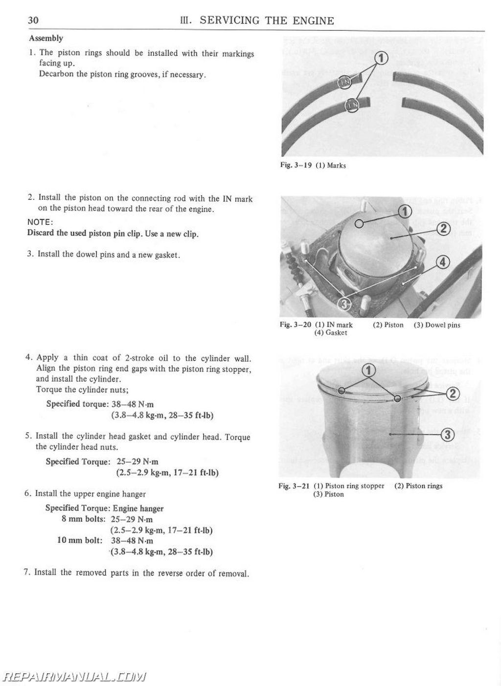 Honda Cr R Elsinore Owners Manual Page on 1981 Honda Cr450