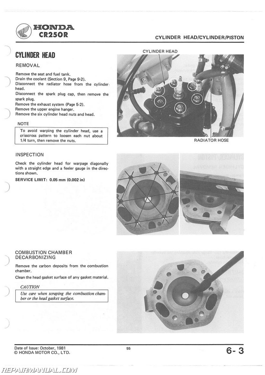 1982 1983 honda cr250r service manual rh repairmanual com honda cr250r service manual download honda crf250r service manual pdf