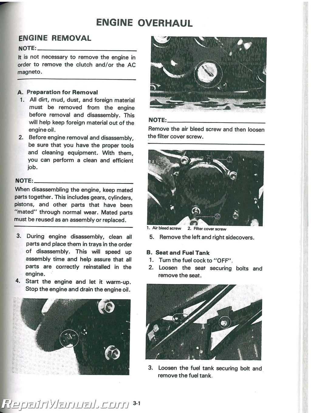1982 1983 yamaha xt550 service manual rh repairmanual com yamaha xt 550 owners manual free yamaha xt 550 workshop manual