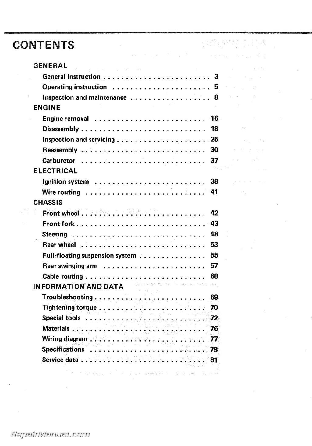 Outstanding Suzuki Pe 175 Wire Diagram Wiring Library Wiring Database Denligelartorg