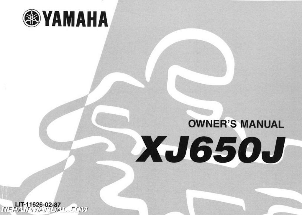 1982 yamaha xj650j maxim motorcycle owners manual rh repairmanual com yamaha motorcycle owners manual 2014 yz450f yamaha motorcycle owners manual 2014 yz450f