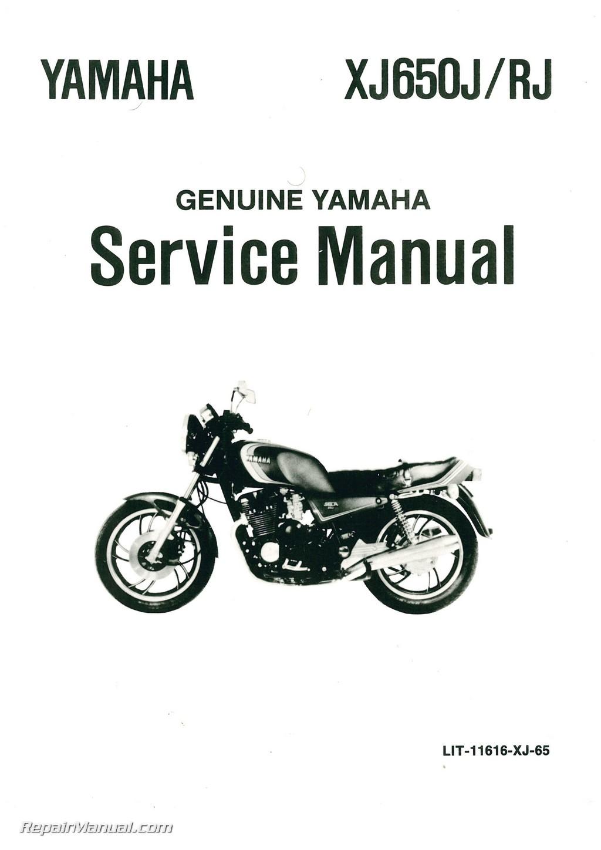 Yamaha Seca Repair Manual