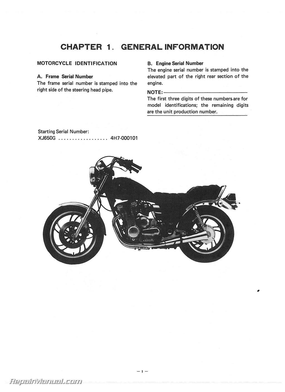 ... 1982-Yamaha-XJ650R-Seca-Motorcycle-Service-Manual_Page_3.jpg ...