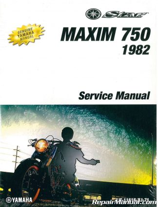 82 Yamaha maxim 750 repair Manual