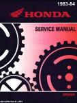 1983-1984 Honda XR500R Service Manual