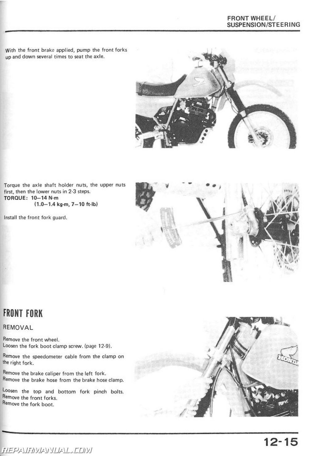 1983 Honda Xl 600 Parts Diagram Get Free Image About Wiring Alesis Al1101 Ad Converter Z2 75 110 Integrated Circuit Replacement 1987 Xl600r Dual Sport Motorcycle Service Manual Rh Repairmanual Com