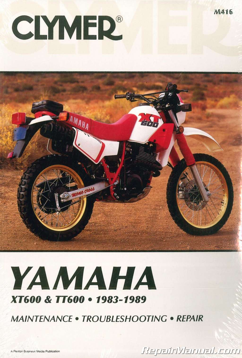 1983 1989 Yamaha Xt600 Tt600 Clymer Motorcycle Repair Manual 1981 Tt500 Ignition Wiring