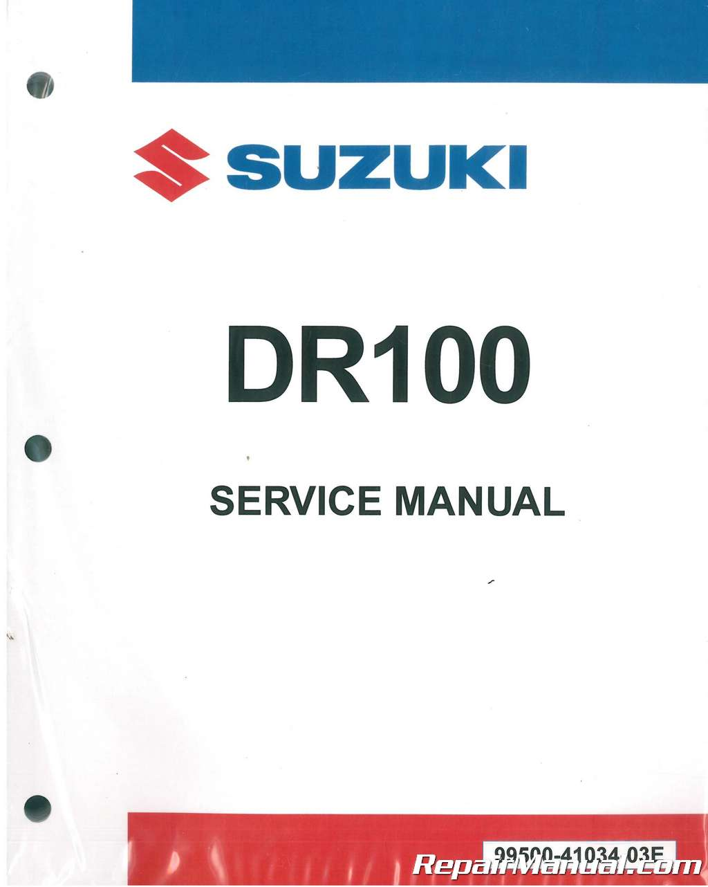 Suzuki Dr 100 Wiring Diagram Wire Center Grand Vitara Harness 1983 1990 Dr100 Sp100 Motorcycle Service Manual Rh Repairmanual Com