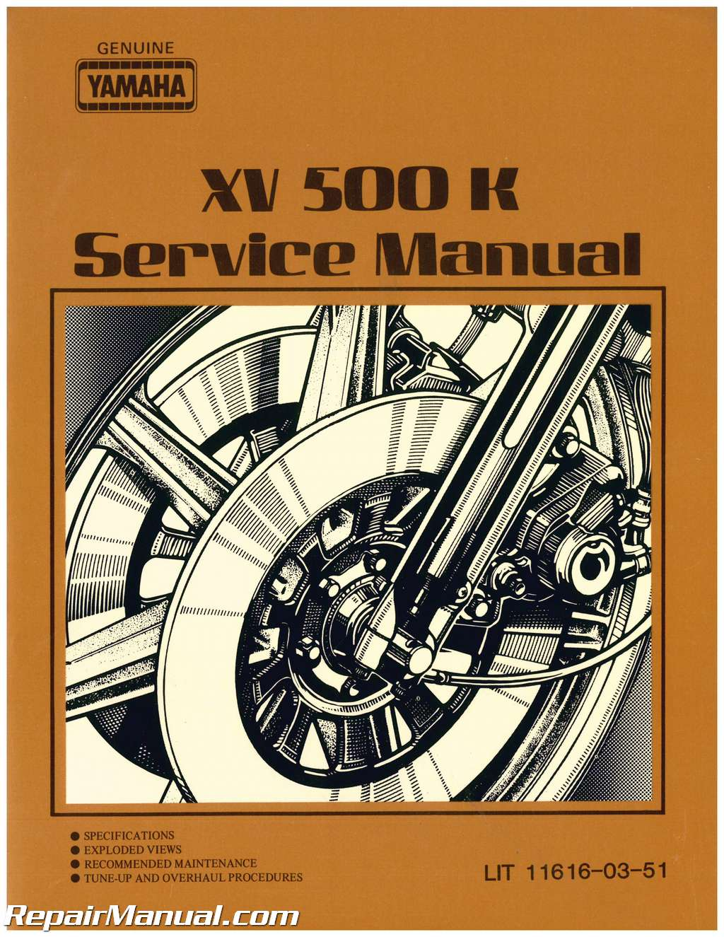 Yamaha Xv 500 Service Manual