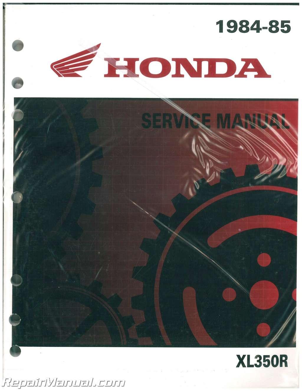 1984 honda xl350r service manual