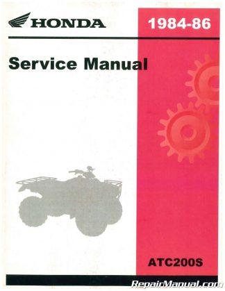 1984-1986-Honda-ATC200S-Service-Manual_001-324x419  Arctic Cat Atv Wiring Diagram on snowmobile m8,