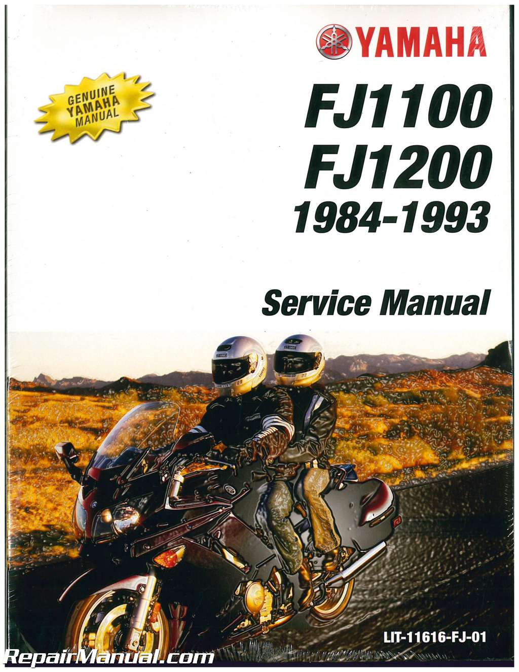 1984 1993 yamaha fj1100 fj1200 motorcycle service manual. Black Bedroom Furniture Sets. Home Design Ideas