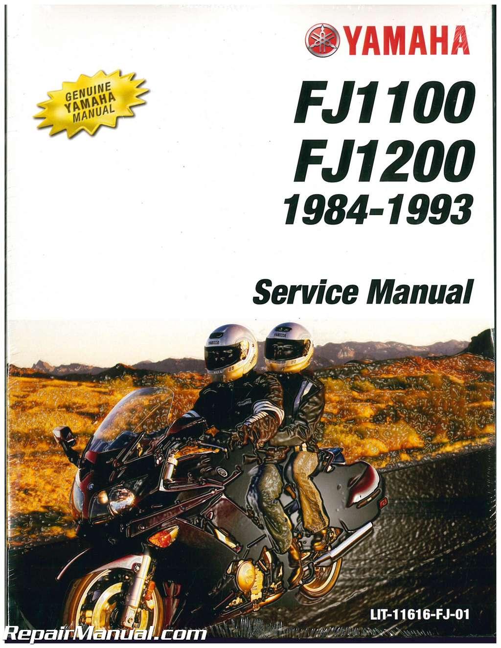 1984 1993 yamaha fj1100 fj1200 motorcycle service manual rh repairmanual com Yamaha FJ1200 Top Speed Yamaha FJ1200 Top Speed