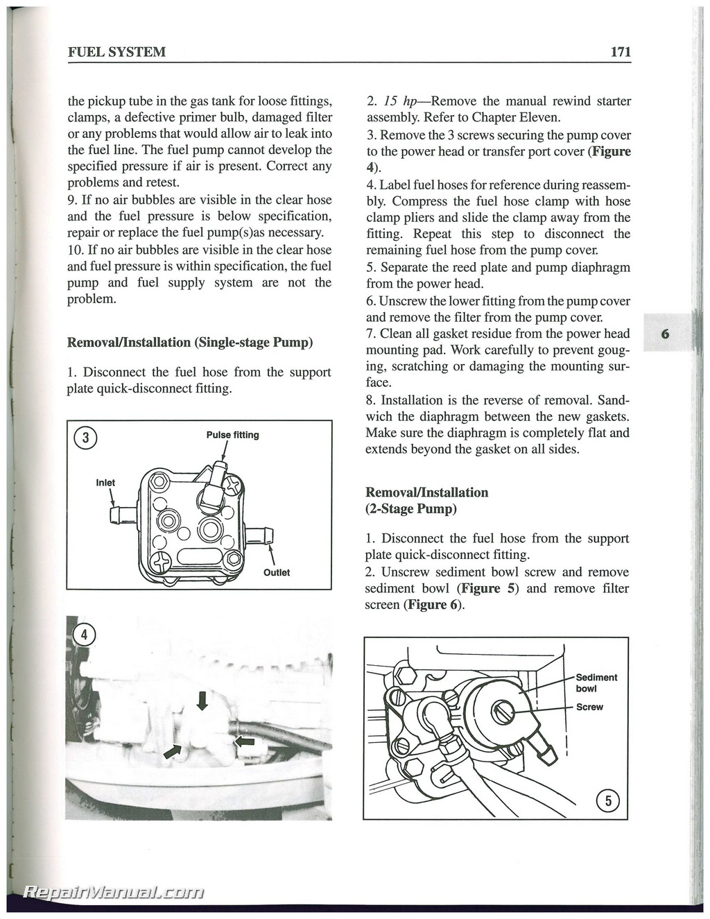 1984 1999 force 4 150 hp outboard boat engine repair manual rh repairmanual com force outboard repair manual free download force outboard shop manual