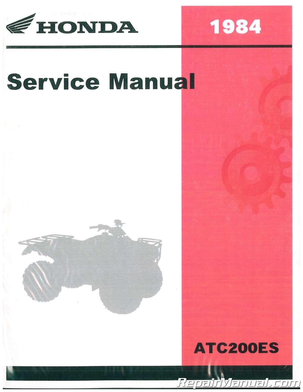 honda cm400a shop manual 1984