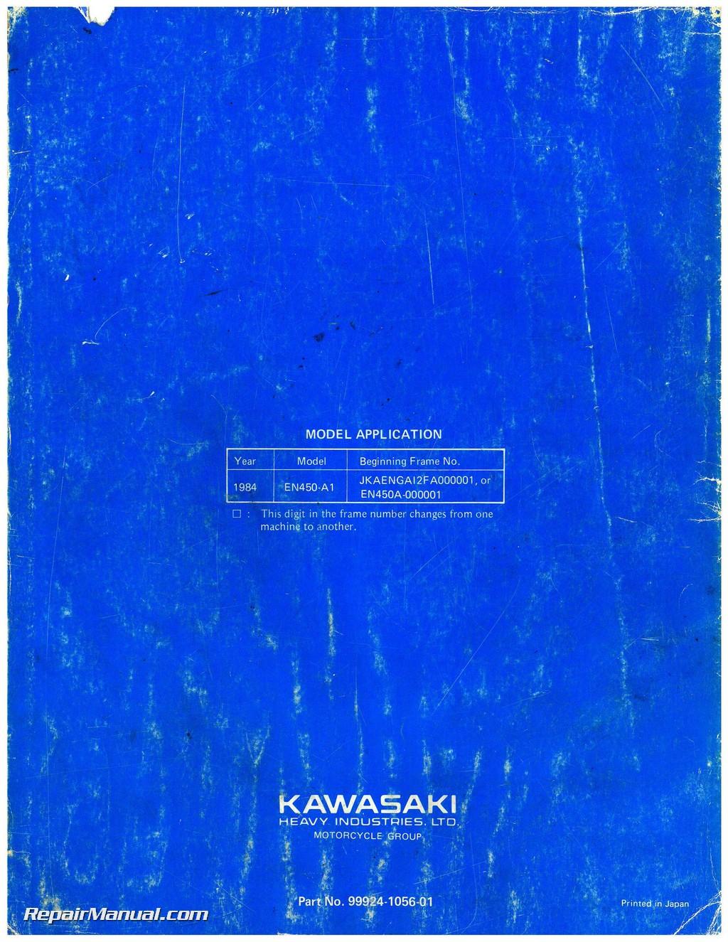 Kawasaki 454 ltd restoring the original radiator youtube.