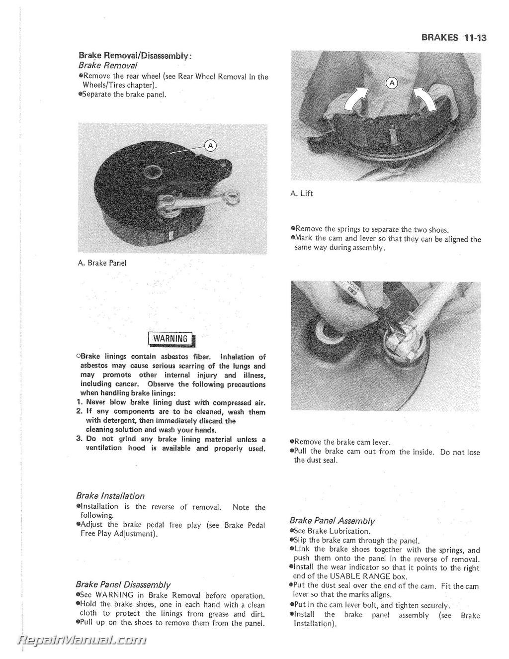 Kawasaki en 450 500 ltd vulcan 1985-2004 service manual download.