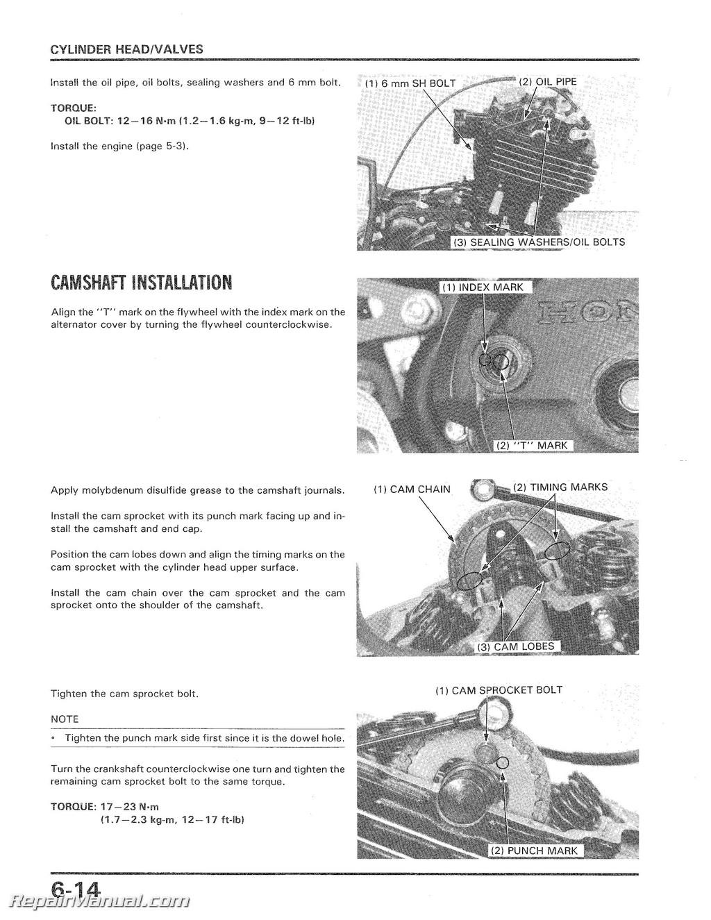 Honda ATCX Service Manual - 1977 honda odyssey fl250 wiring diagram