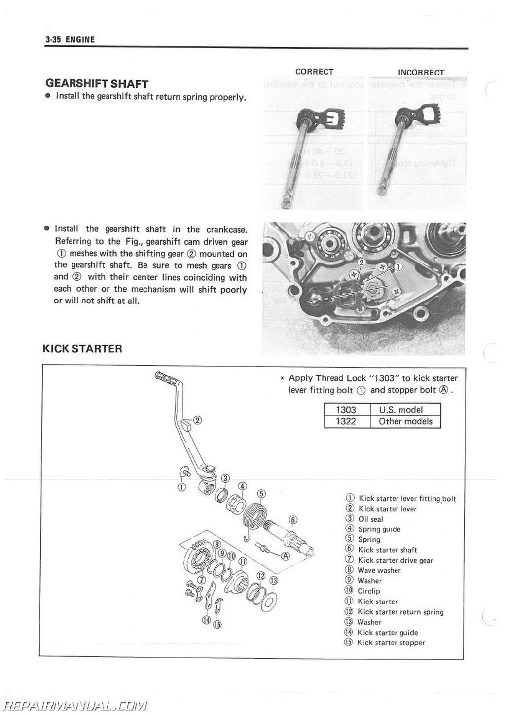 1985-1986 Suzuki LT250R ATV Service Manual