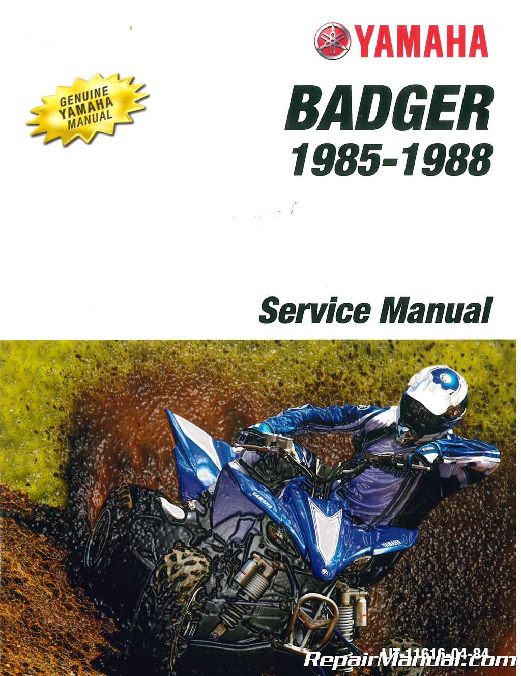 1985 1988 Yamaha Yfm80 Service Manual