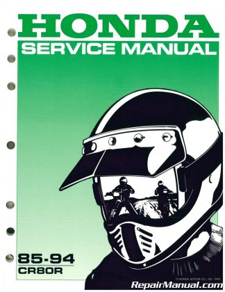 1988 1989 Honda Nx650 Service Manual