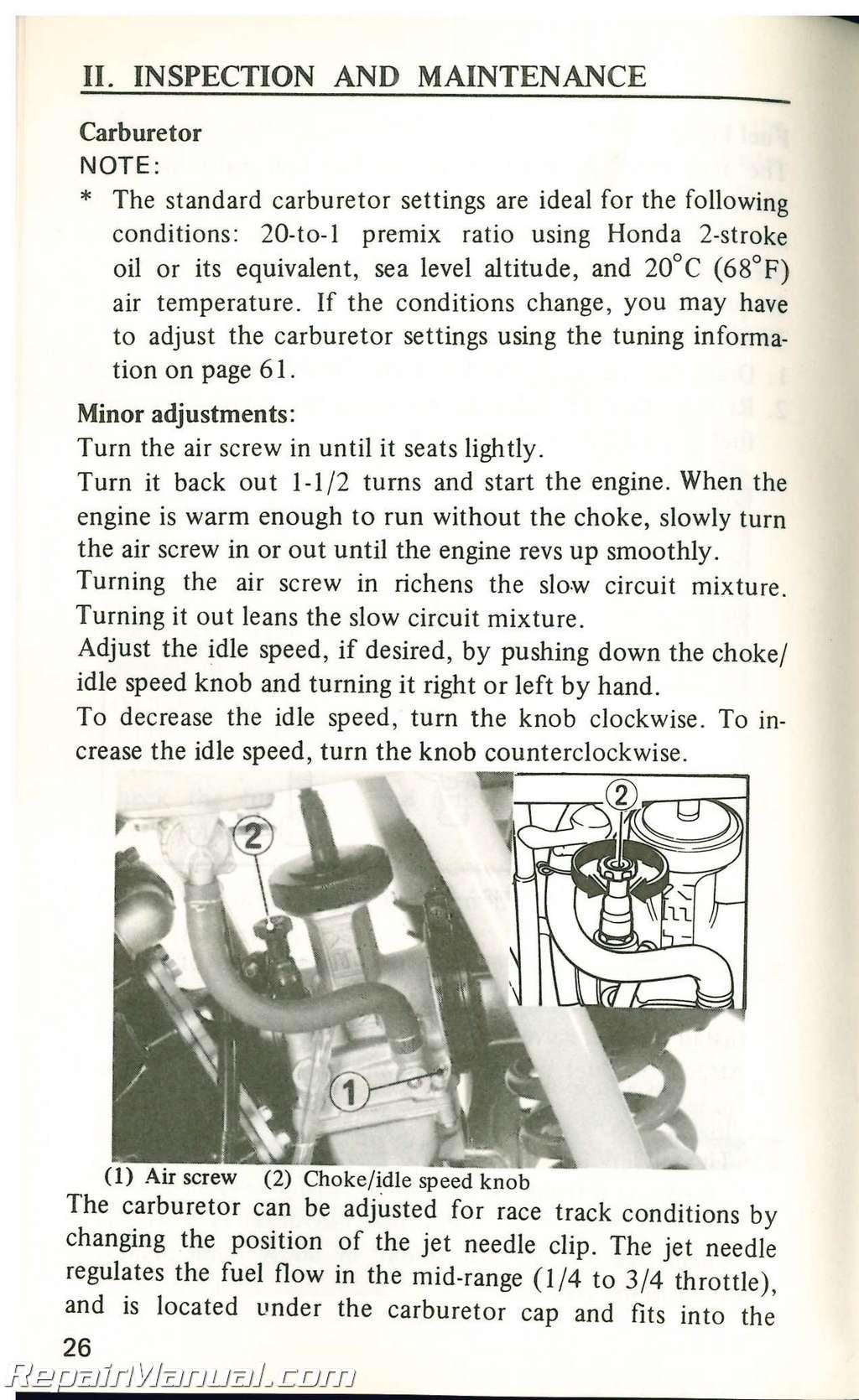 Honda Cr500 manual