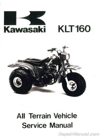 Kawasaki Klt manual on