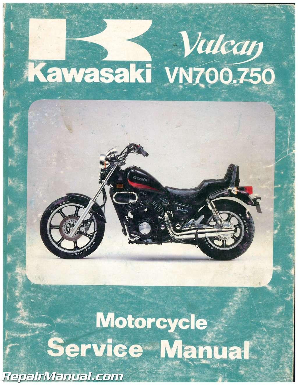 Service Manual kawasaki 750 vn