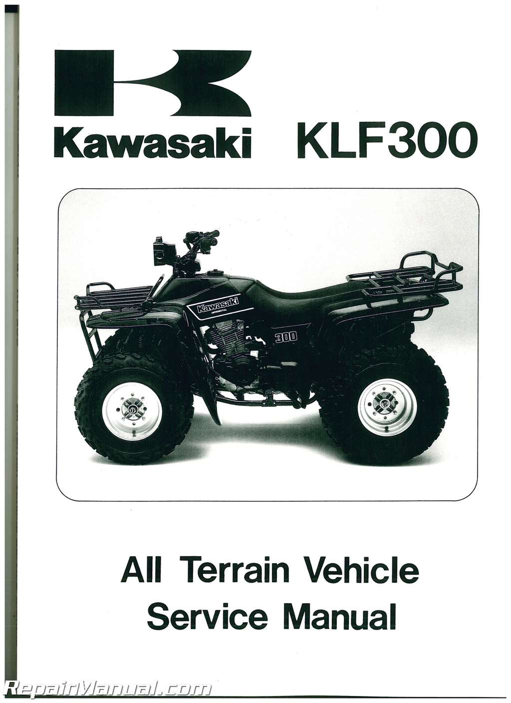 Pdf 6786 Klf 300 Atv Service Manual 2019 Ebook Library Wiring Diagram For Kawasaki Bayou 220 1986 1987 Klf300