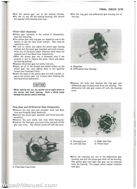 Troubleshooting Repairing A Kawasaki Bayou Klf300 Atv Manual Guide