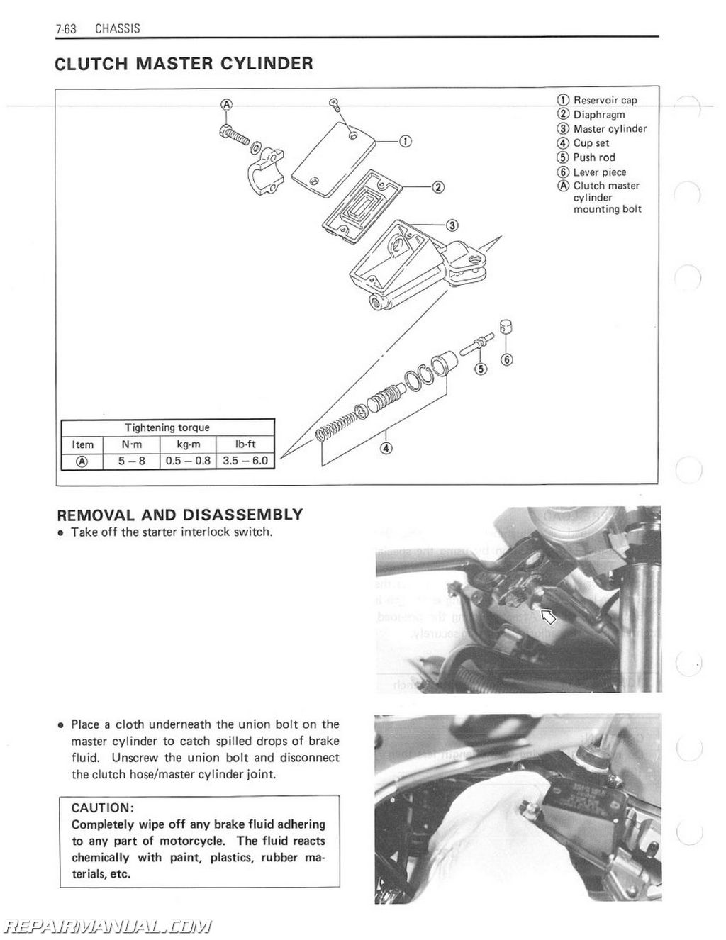 1986 1990 suzuki gsxr750 motorcycle service manual rh repairmanual com 1990 rm125 service manual 1990 miata service manual pdf
