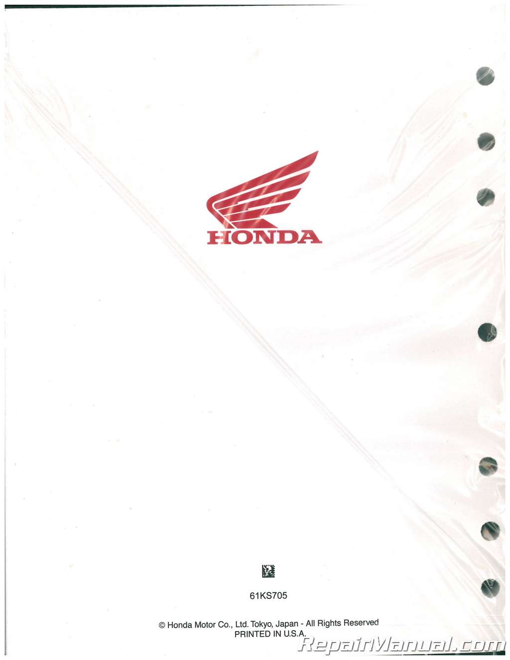 1986 1991 Honda Cr250r Motorcycle Service Manual Manualsonline