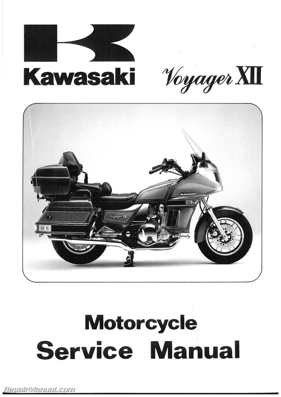 kawasaki voyager xii wiring diagram 1986 kawasaki zg1200b voyager xii service manual  1986 kawasaki zg1200b voyager xii