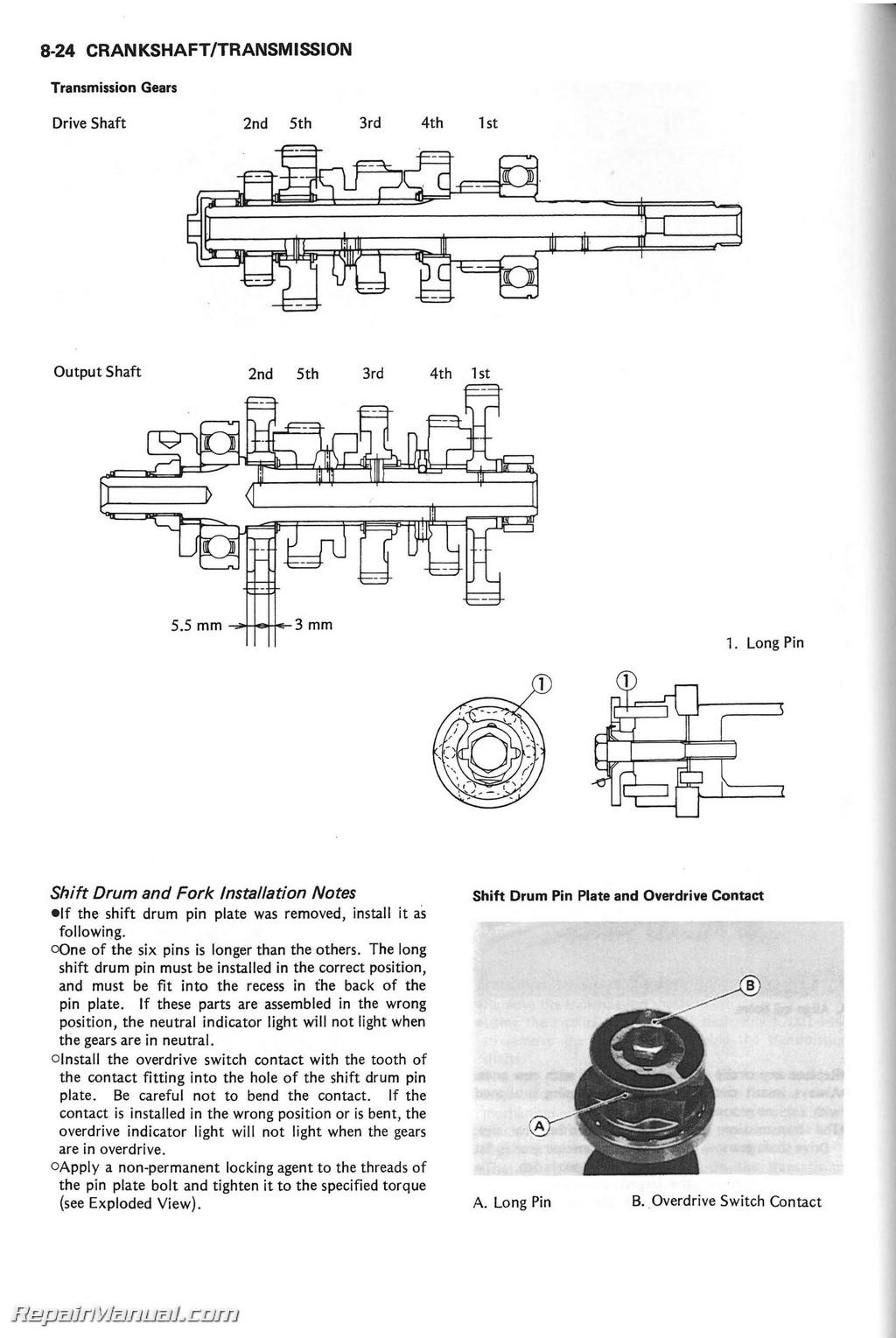 1994 Kawasaki Voyager Xii Engine Diagram Diy Enthusiasts Wiring 1986 Zg1200b Service Manual Rh Repairmanual Com Parts 2003