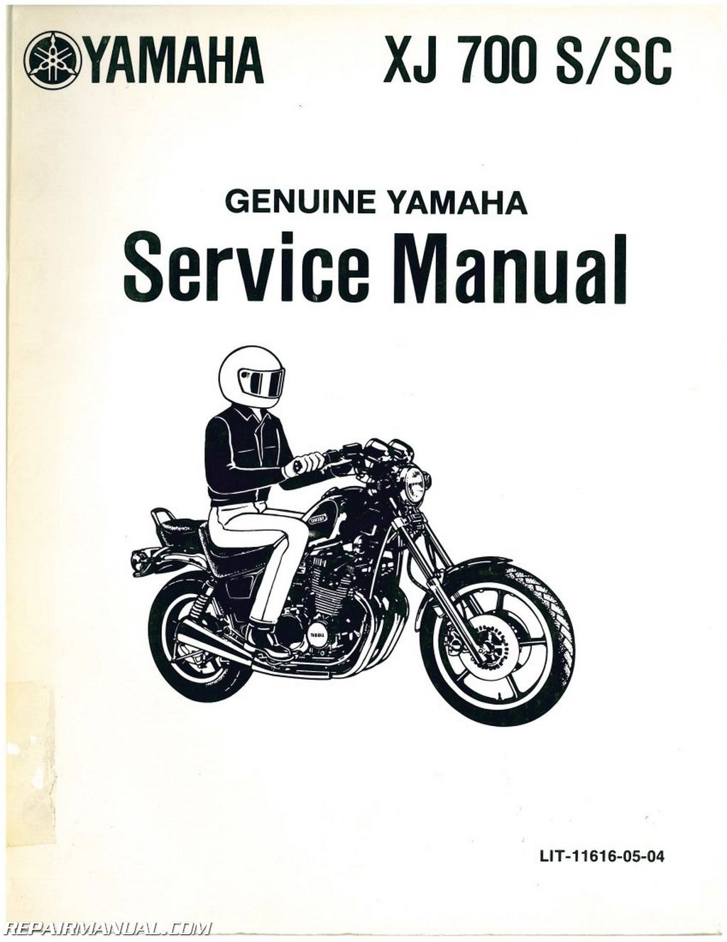 1986 yamaha xj700s xj700sc maxim motorcycle service manual. Black Bedroom Furniture Sets. Home Design Ideas