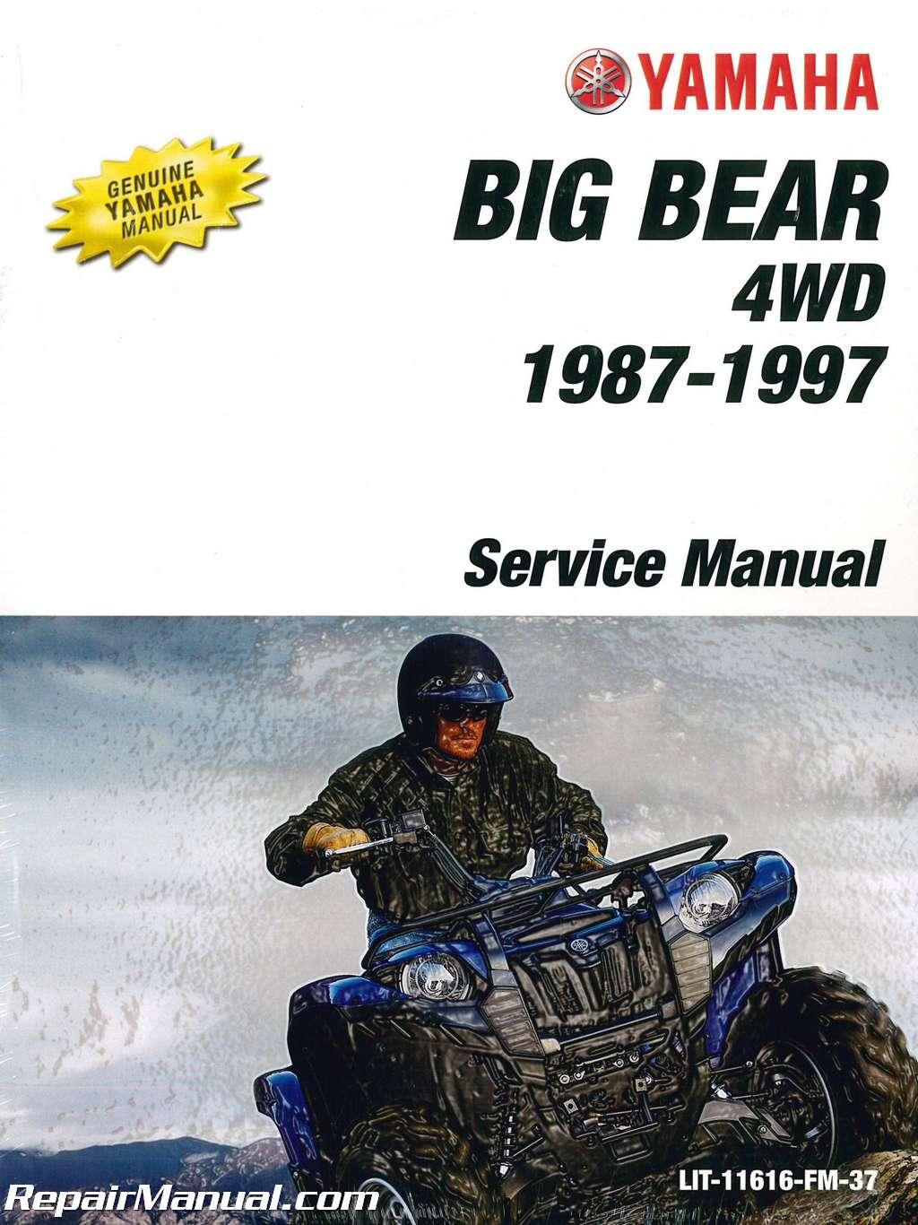 1987-1997-Yamaha-YFM350FW-Big-Bear-ATV-Service- ...