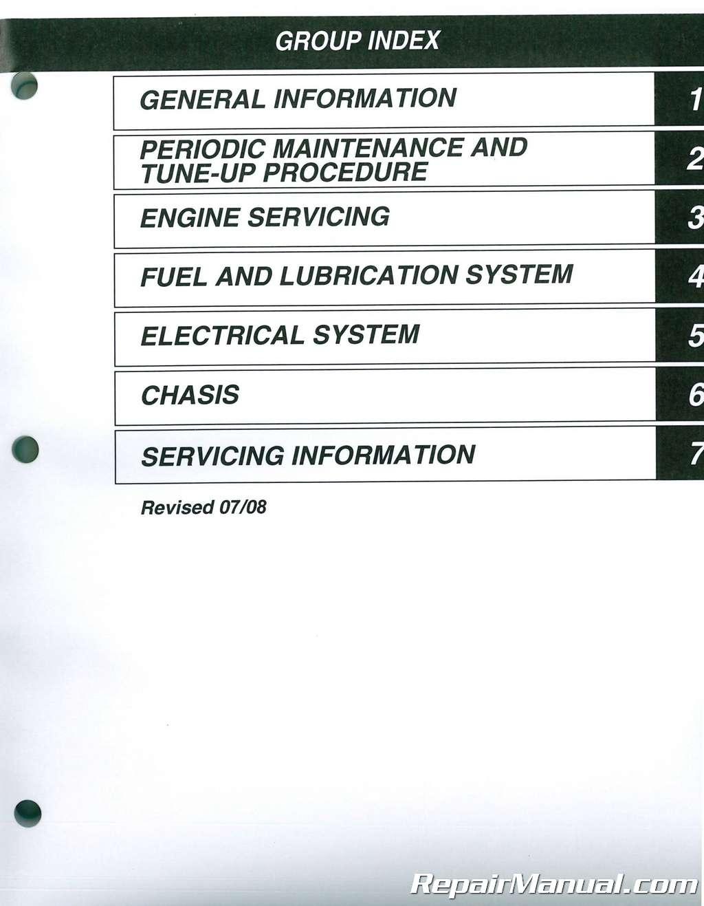1987-2006 Suzuki LT80 QuadRunner Quadsport Service Manual