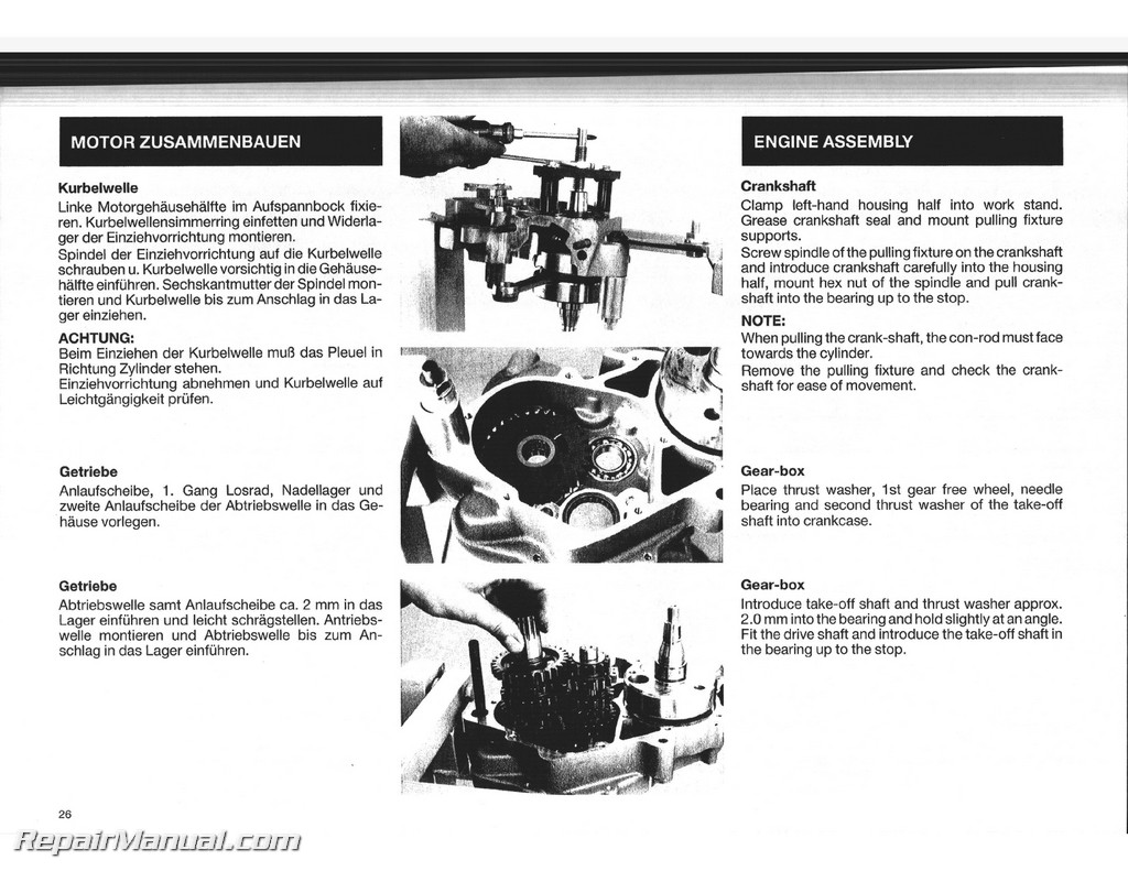 1988 1989 1990 1991 ktm 125 dxc egs exc mx engine service. Black Bedroom Furniture Sets. Home Design Ideas