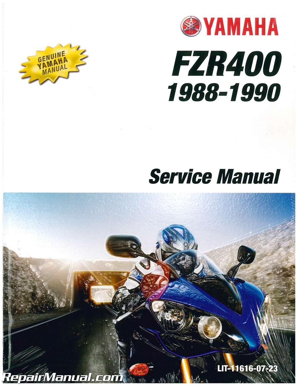 1988 1990 yamaha fzr400 motorcycle service manual. Black Bedroom Furniture Sets. Home Design Ideas