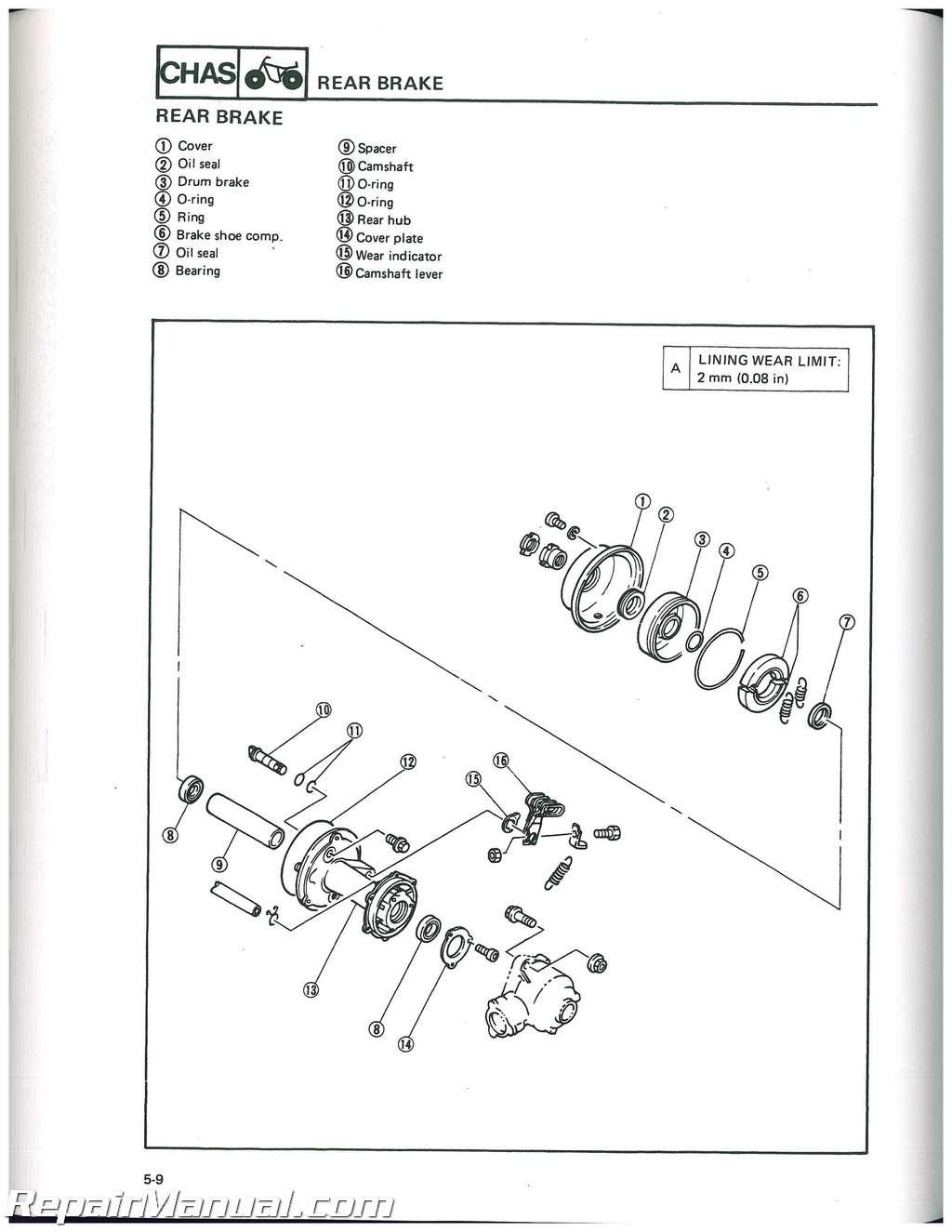 Wiring Diagrams 1991 Yamaha Moto 4 Atv Wiring Library