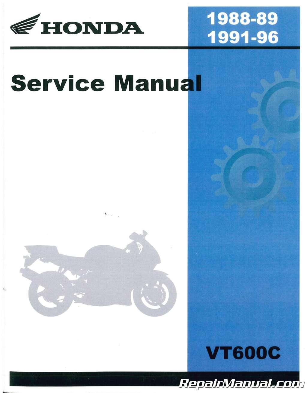 1988 1996 honda vt600c service manual rh repairmanual com honda vt 600 c service manual pdf honda vt 600 c service manual pdf