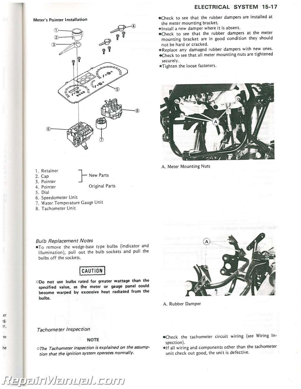 Kawasaki Ex500 Wiring Schematic Trusted Schematics Diagram 1988 A1 Gpz Motorcycle Service Manual Supplement Bayou 220