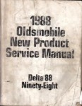 Used 1988 Oldsmobile Delta 88 and Ninety-Eight New Product Service Manual