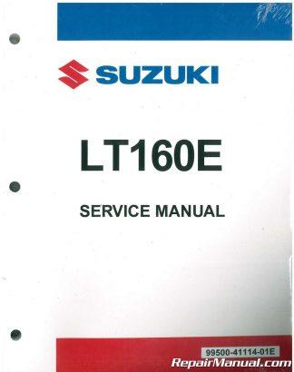 1989 2005 suzuki lt160 lt f160 quadrunner atv service manual