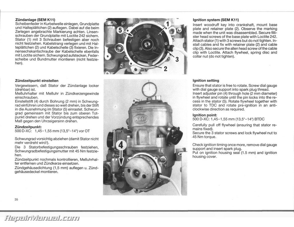 Ktm 350 Engine Diagram Layout Wiring Diagrams 300 Starter 1989 1990 500 540 Motorcycle Service Manual Rh Repairmanual Com 2015 450 Sx F 1986 Cooling
