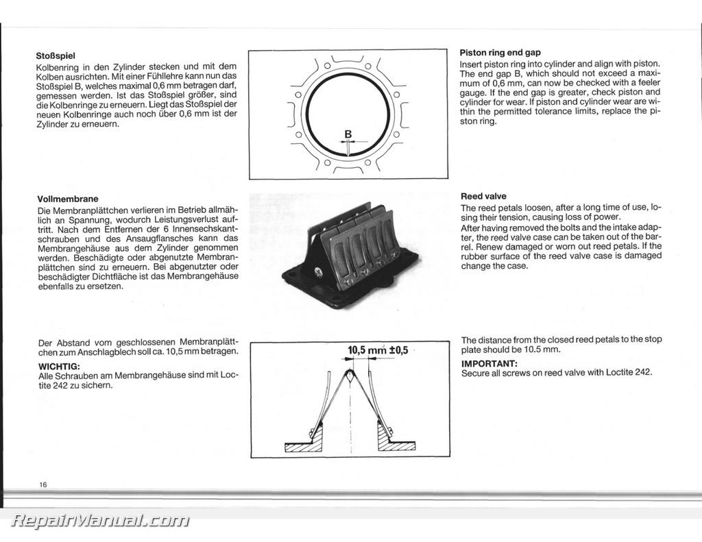 1989 1990 ktm 350 500 540 motorcycle engine service manual rh repairmanual com case 530 wiring diagram with alternator Case IH Tractor Wiring Diagrams
