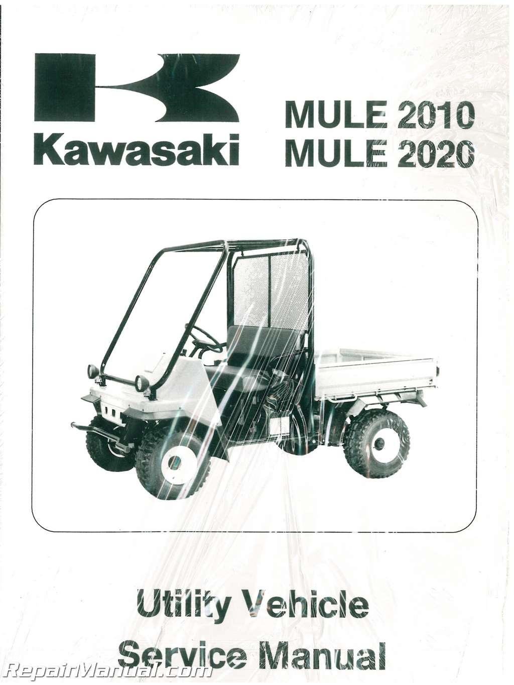 Kawasaki Mule Parts Manual