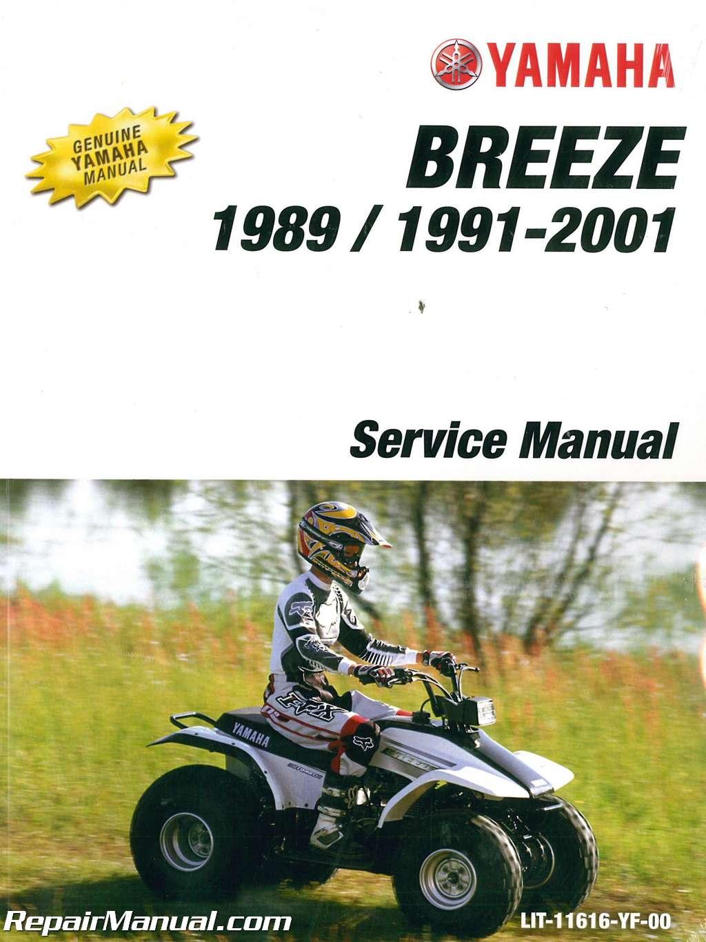 yamaha breeze service manual